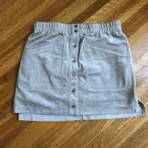 Gorgeous faux suede BCBGMAXAZRIA skirt